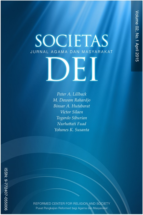 Societas Dei Vol.2 No.1 2015