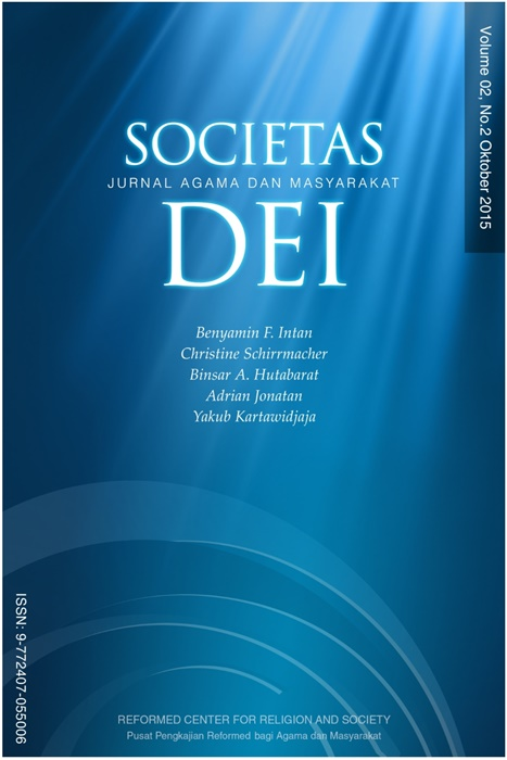 Societas Dei Vol.2 No.2 2015