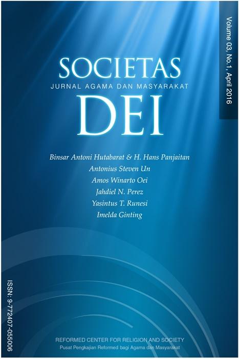 Societas Dei Vol.3 No.1 2016